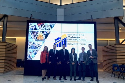 Success of students of the Faculty of Economics at the world competition RITC 2020