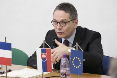 Univerzitné udalosti » French Ambassador as a Guest at Diplomacy in Practice