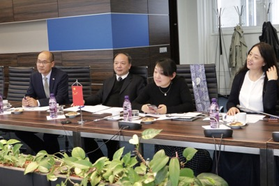 Návšteva delegácie zo Shanghai University of International Business and Economics