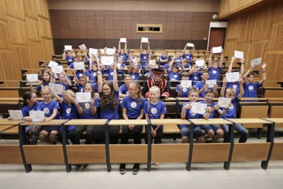 Univerzitné udalosti » Graduation Ceremony of Children's University of Economics 2019