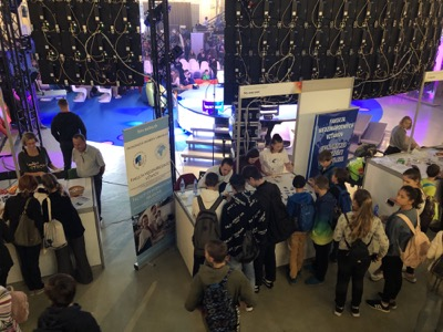 Univerzitné udalosti » EUBA Faculties on the European Researchers' Night for the Ninth Time