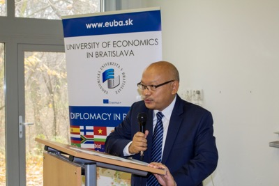 Univerzitné udalosti » The Indian Ambassador Closed the 26th Edition of Diplomacy in Practice